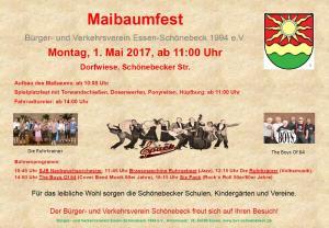 Plakat Maifest2017